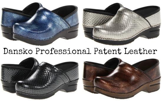 Dansko Professional Patent Leather