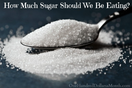 How Much Sugar Should We Be Eating?