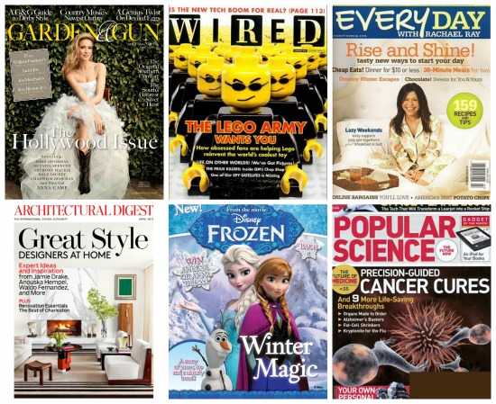 deals on magazines