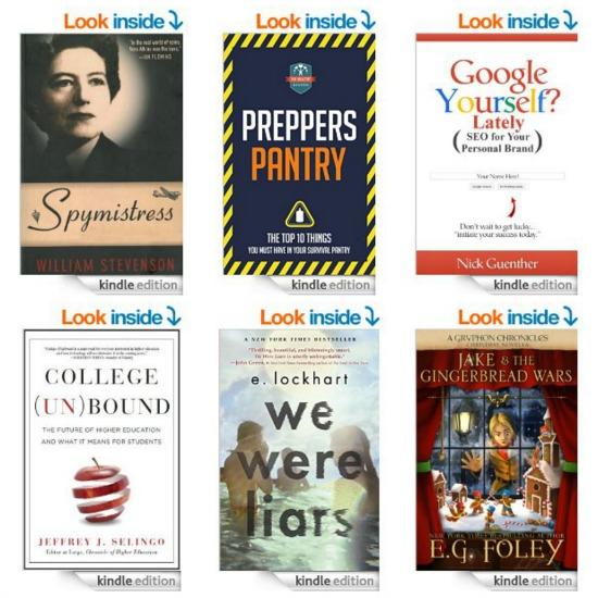 Free Kindle Books, $49 Kindle, Starbucks, LAMO Boots, LapDesks, Razor Scooters, Recipes and More