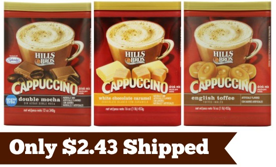 hills bros cappuccino