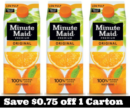 minute maid juice coupon