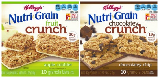 Nutri Grain Nutri Grain Fruit Crunch Bars