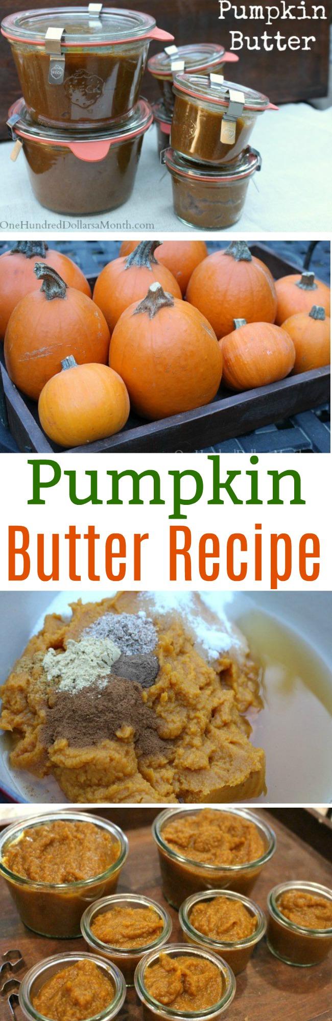Freakin' Awesome Pumpkin Butter