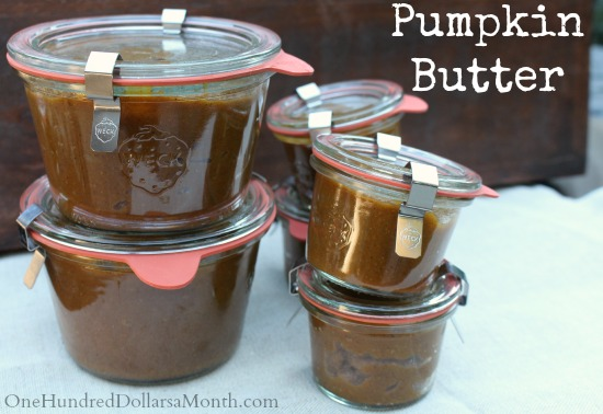 Freakin' Awesome Pumpkin Butter
