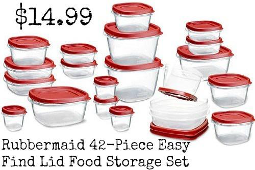 rubbermaid storage set