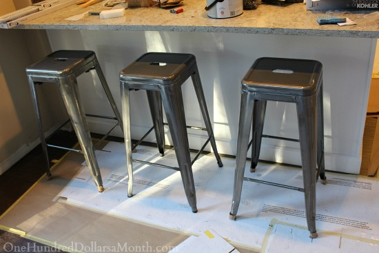 and Stackable bar Turquoise turquoise Turquoise Metal tar stools Industrial Stools