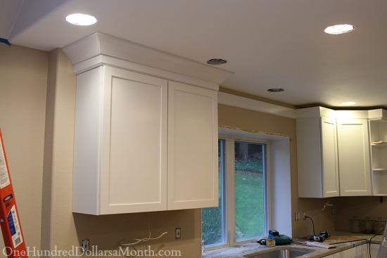 Mavis Remodel Blog Day 37 The White Kitchen Cabinets Are