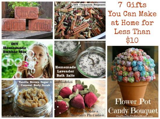 7 gifts you can make at home for less than 10 one