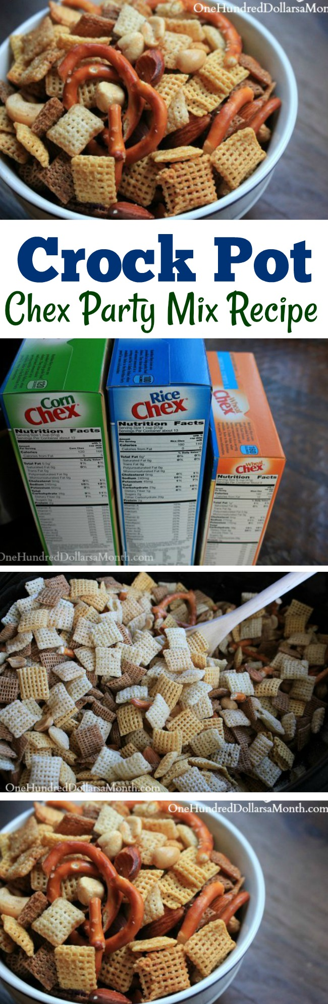 Easy Appetizer Ideas – Homemade Chex Party Mix