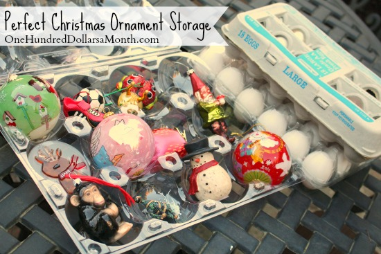Upcycling Egg Cartons: Perfect Christmas Ornament Storage