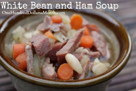 Using Dried Beans – White Bean and Ham Soup