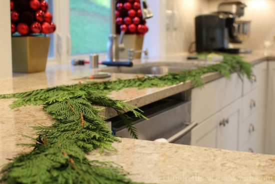 Making a Cedar Christmas Garland From Scratch