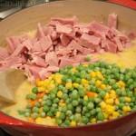 Easy Ham Pot Pie Recipe