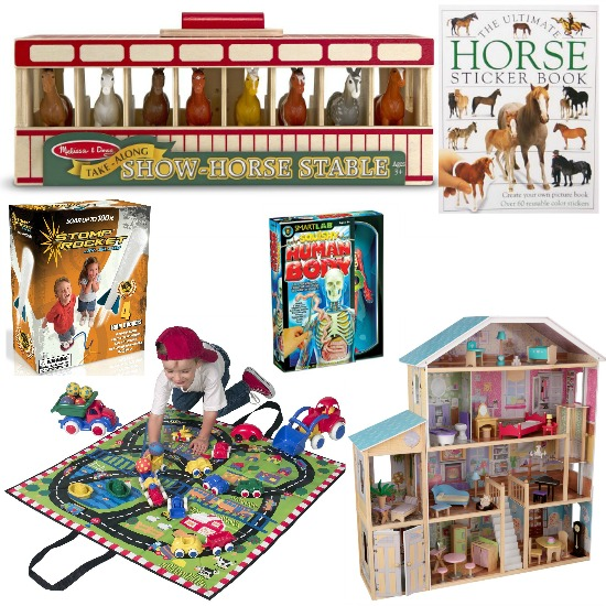 horse sticker book
