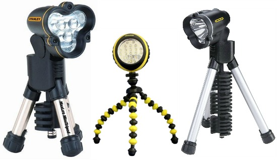 stanley tripod light