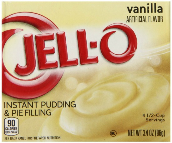 vanilla jello pudding