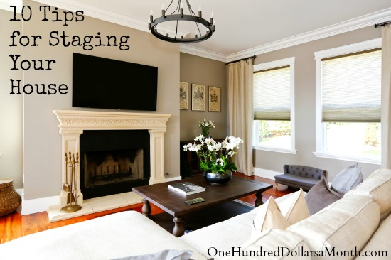 10 Tips for Staging Your House
