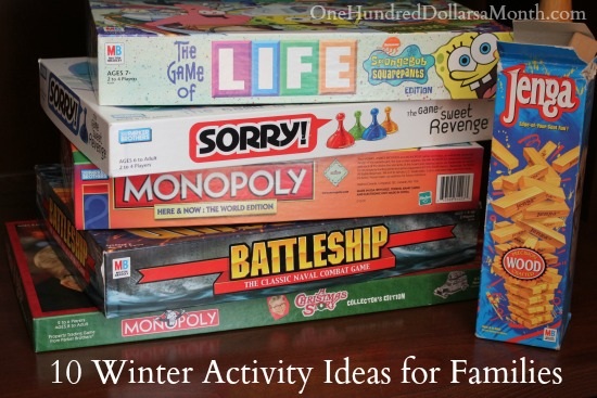 10 Winter Activity Ideas for Families