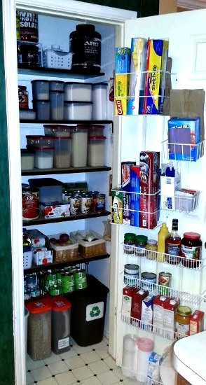 The $20/$20 Challenge:  Deb Shows Off Her Pantry {and Her Freezer Meals!}