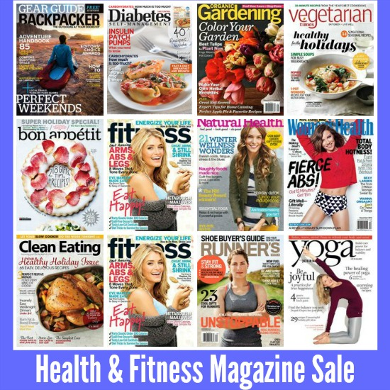Health and Fitness Magazine Sale
