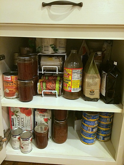 The $20/$20 Challenge:  My Buddy Lola Sends in Her Pantry Photos