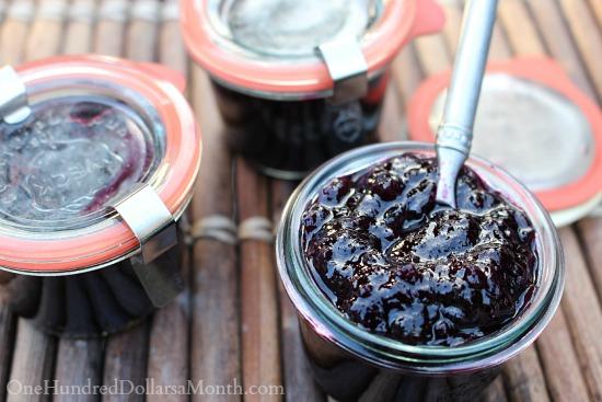 blueberry lemon jam recipe