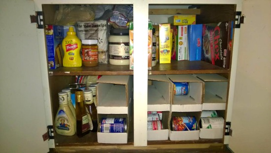 The $20/$20 Challenge: Paige From Salem, Oregon Shows Us Her Pantry