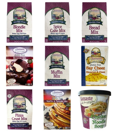 nameste gluten free mixes