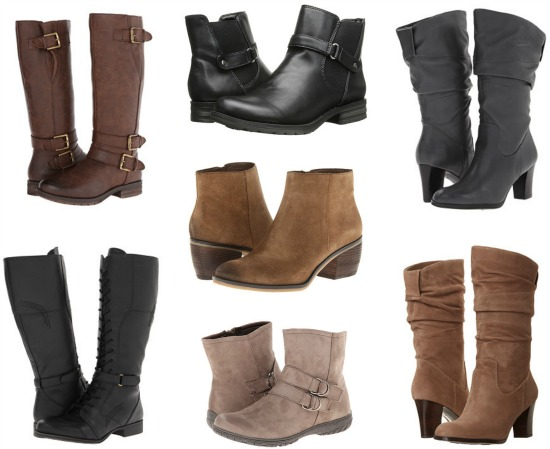 naturalizer boots sale