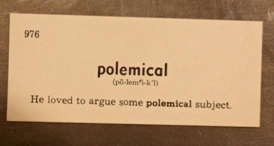 polemical