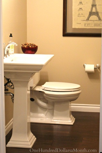 Mavis' Powder Room Before and After Photos