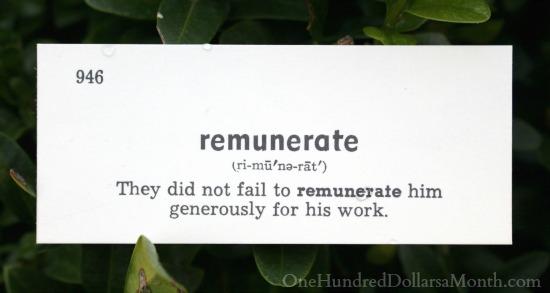remunerate