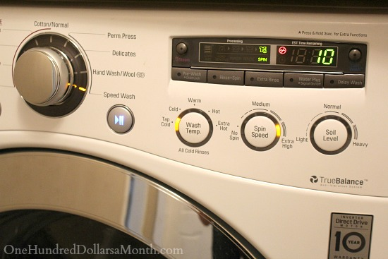 Penny Pinching Tip – Washing Clothes in Cold Water