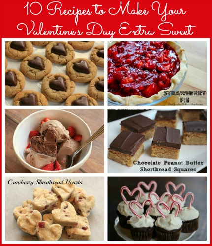 10 Recipes to Make Your Valentine's Day Extra Sweet