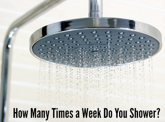 How Many Times a Week Do You Shower?