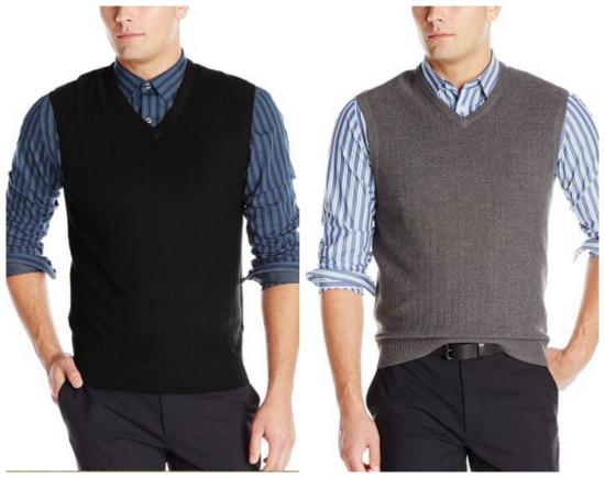 haggar mens sweater vest