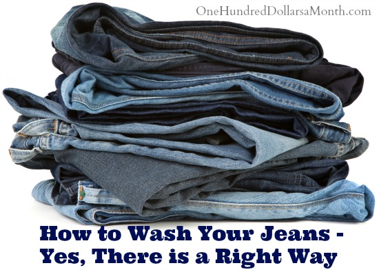 How to Wash Your Jeans – Yes, There is a Right Way