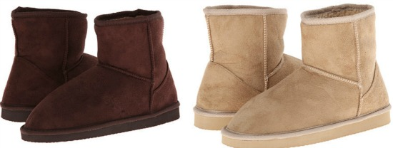low ugg like boots