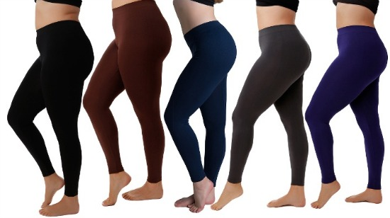 plus size stretch leggings
