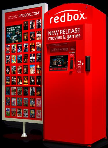 redbox free rental code