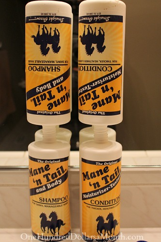 shampoo penny pinching tip