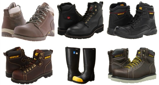 steel toe boots on sale