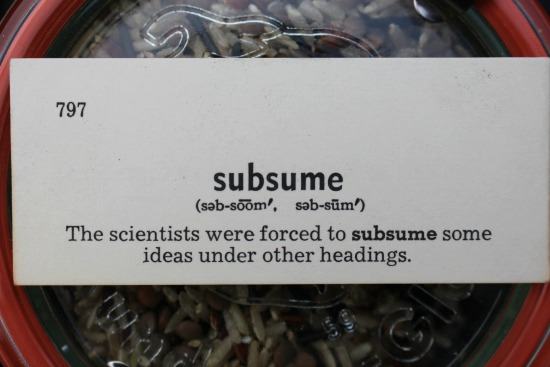 subsume