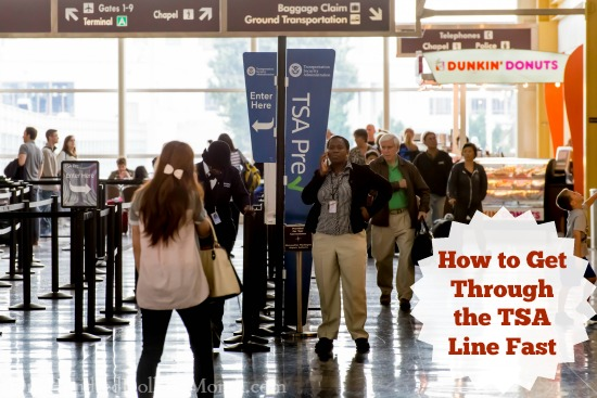 How to Get Through the TSA Line Fast