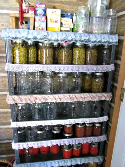 The $20/$20 Challenge: Vickie In Frozen Michigan Shows Us Her Pantry