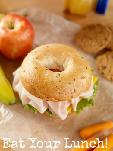 bagel for lunch