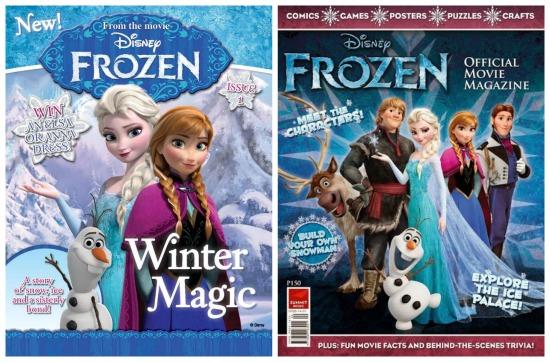 disney frozen magazine