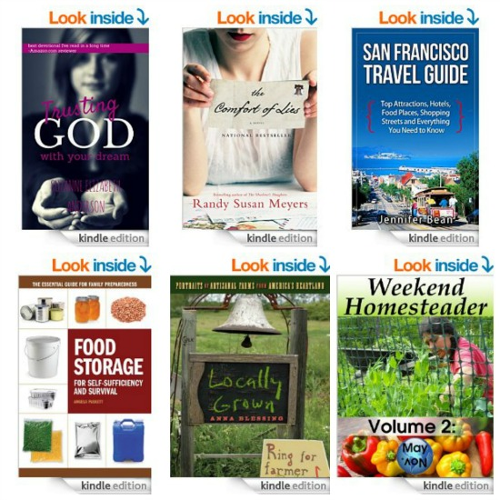 Free Kindle Books, $5 Magazine Sale, Planter's Peanuts, Tiny Prints Deal, Yarn, Yarn and More Yarn