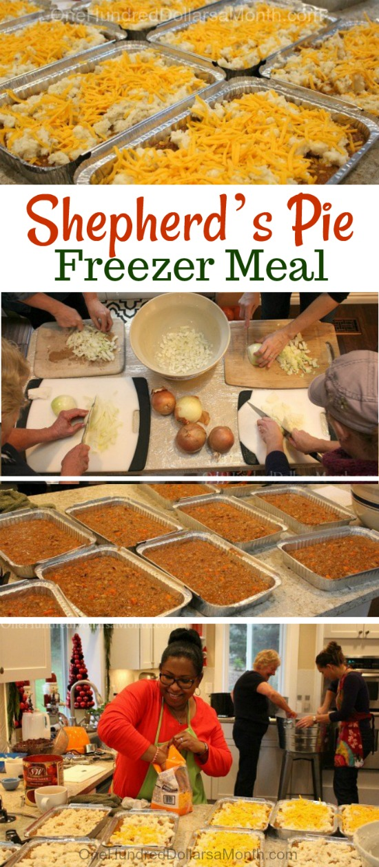 Freezer Meal Shepherd's Pie Recipe